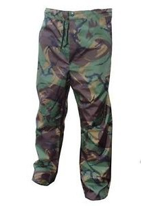 Men Waterproof Trousers (PVC) Camo