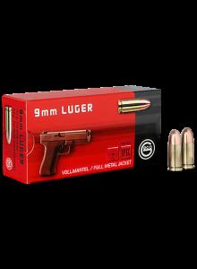 GECO 9 mm Luger FMJ Round-Nose 124 gr