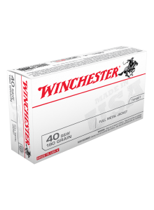 Winchester 40 Smith & Wesson 180 gr. FMJ