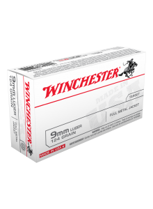 Winchester 9mm Luger 124 gr. FMJ