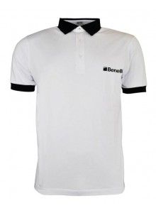 Benelli White Polo Shirt
